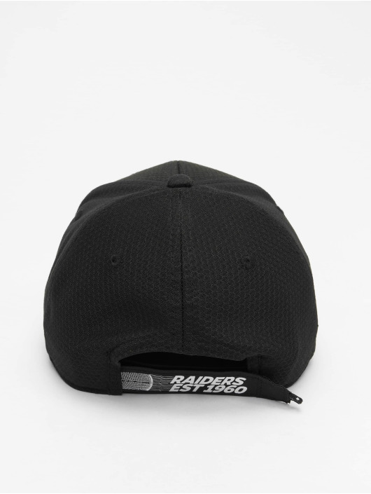 New Era Snapback Cap NFL Oakland Raiders 9Forty Velcro Strap black