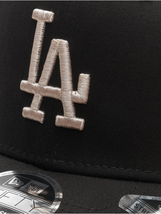 New Era Snapback Cap MLB LA Dodgers League Essential 9Fifty black