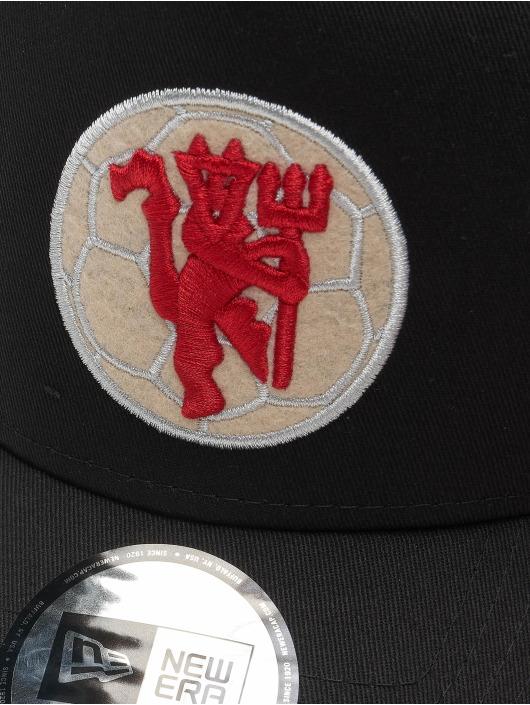 New Era Snapback Cap 9Forty A Frame Manchester United FC black