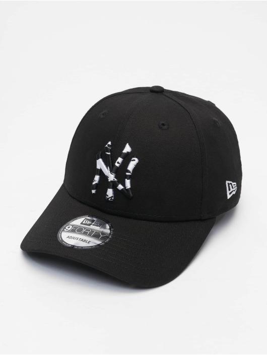 New Era Snapback Cap Infill New York Yankees 9Forty black
