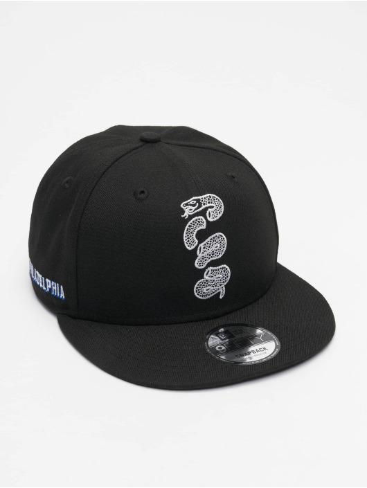 New Era Snapback Cap NBA20 Philadelphia 76ers City Alt EM 9Fifty black