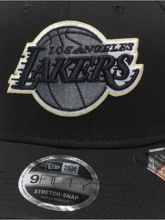 New Era Snapback Cap Nba Properties Los Angeles Lakers Neon Pop Outline 9fifty black