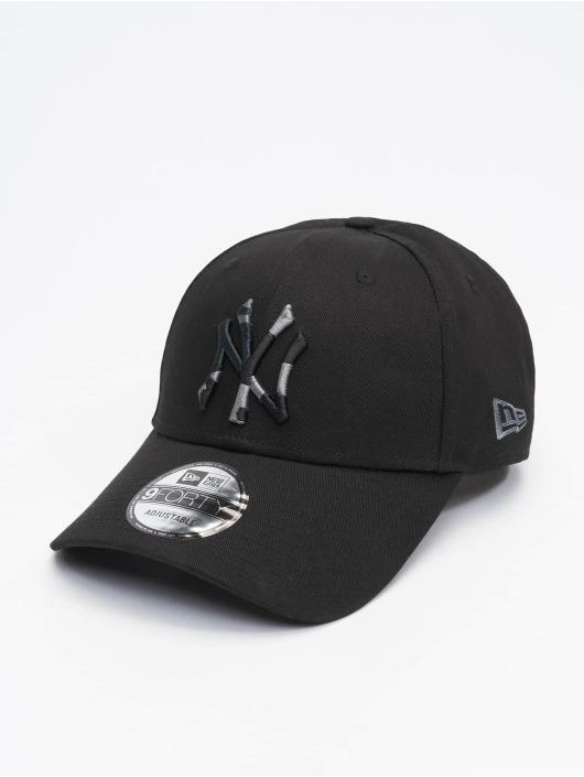 New Era Snapback Cap Mlb Properties New York Yankees Camo Infill 9forty black