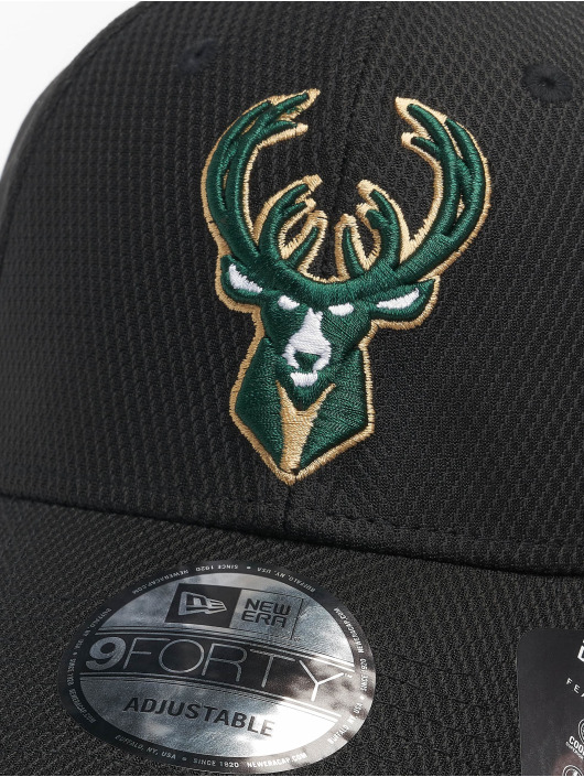New Era Snapback Cap Nba Properties Milwaukee Bucks Diamond Era 9forty black