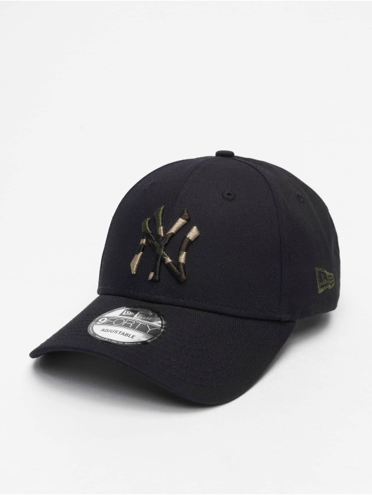 New Era Snapback Cap MLB NY Yankees Camo Infill 9Forty blue