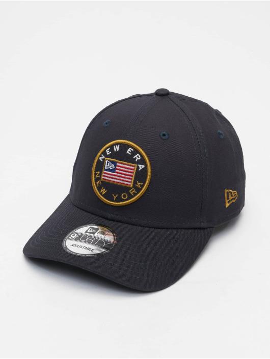New Era Snapback Cap US Flag Pack 9Forty blue