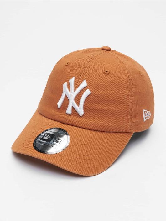 New Era Snapback Cap Mlb Properties New York Yankees Team Cc 9twenty brown