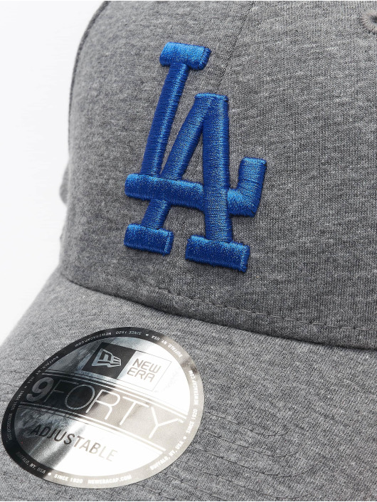 New Era Snapback Cap MLB LA Dodgers Jersey Essential gray