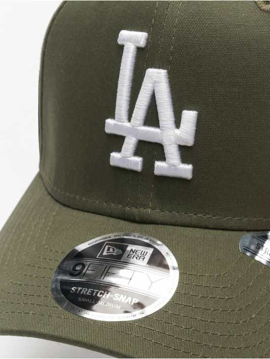 New Era Snapback Cap MLB LA Dodgers League Essential 9Fifty green