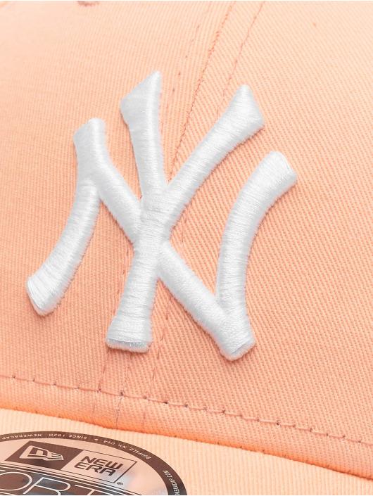 New Era Snapback Cap MLB New York Yankees League Essential 9forty orange