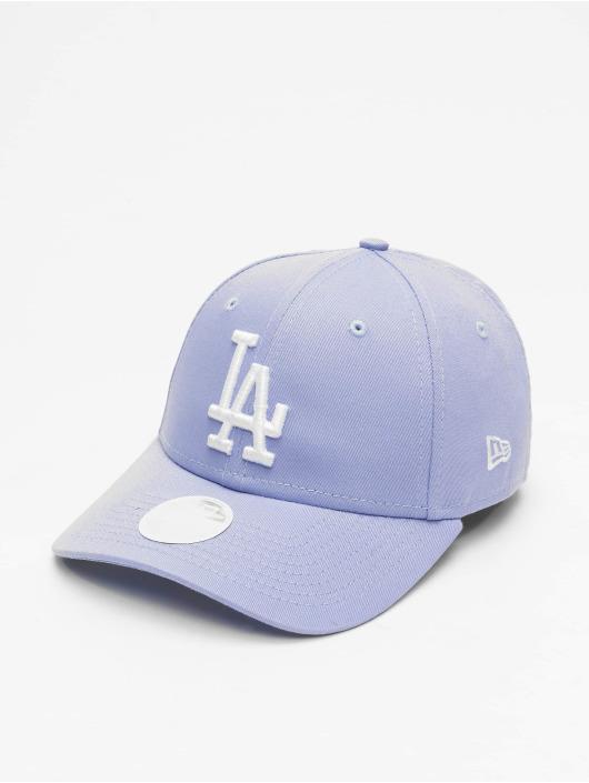 New Era Snapback Cap MLB LA Dodgers League Essential 9Forty purple