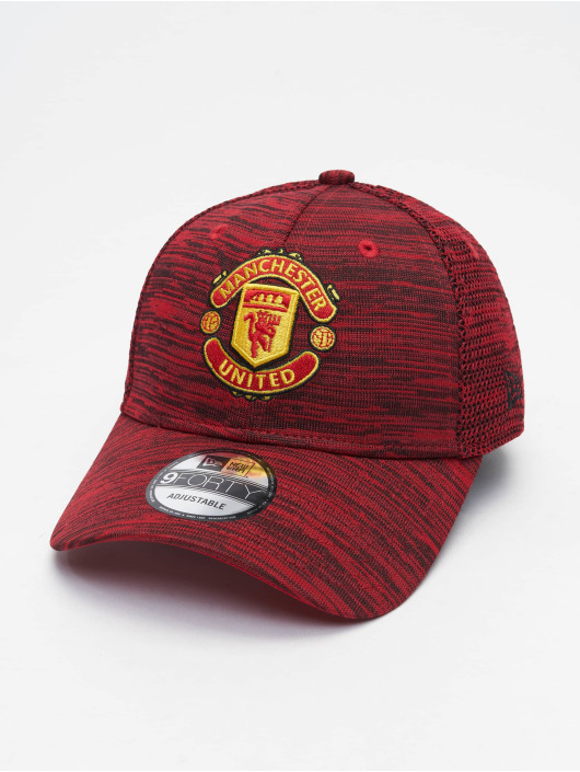 New Era Snapback Cap 9Forty Scarlet Engineered Manchester United FC red