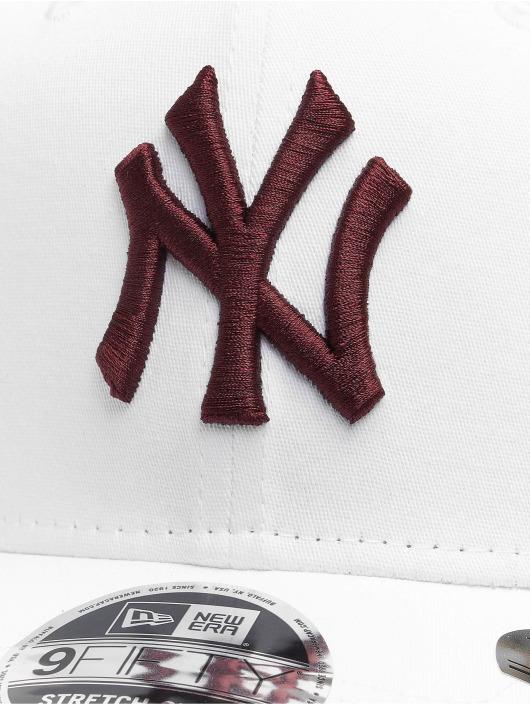 New Era Snapback Cap MLB NY Yankees League Essential 9Fifty white