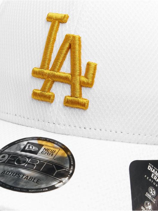 New Era Snapback Cap MLB LA Dodgers Diamond Era Essential 9Forty white