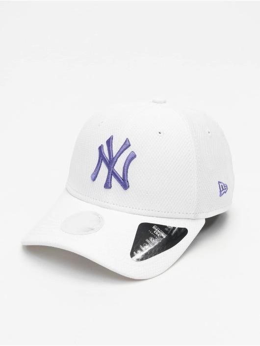New Era Snapback Cap MLB New York Yankees Womens Diamond Era white