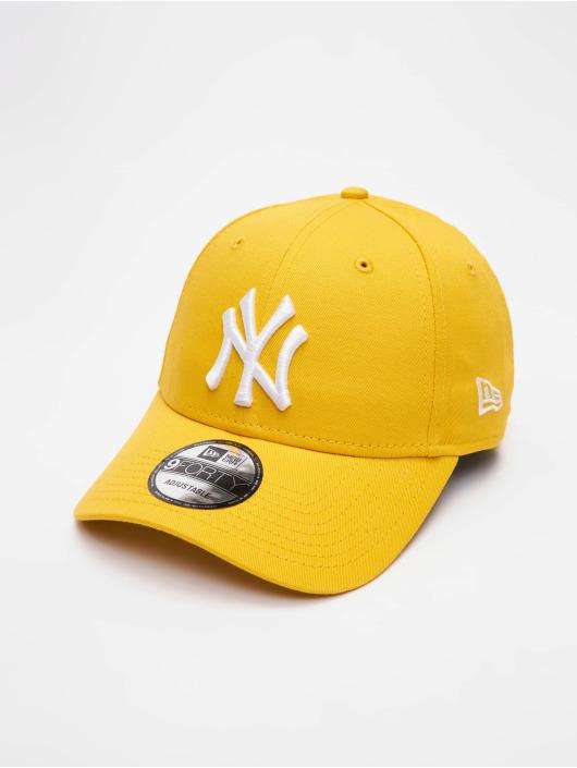 New Era Snapback Cap MLB NY Yankees Essential 9Forty yellow