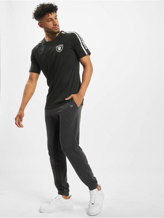 New Era T-Shirt NFL Oakland Raiders Raglan Shoulder Print black
