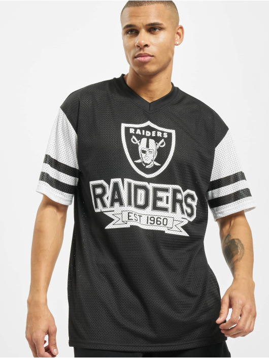 New Era T-Shirt NFL Oakland Raiders Contrast Sleeve Oversize black