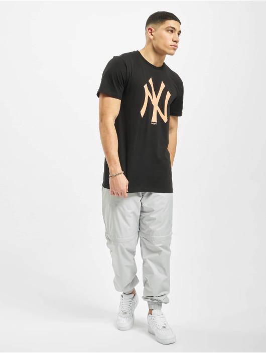 New Era T-Shirt MLB NY Yankees Seasonal Team Logo black