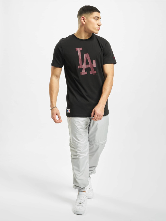 New Era T-Shirt MLB LA Dodgers Seasonal Team Logo black