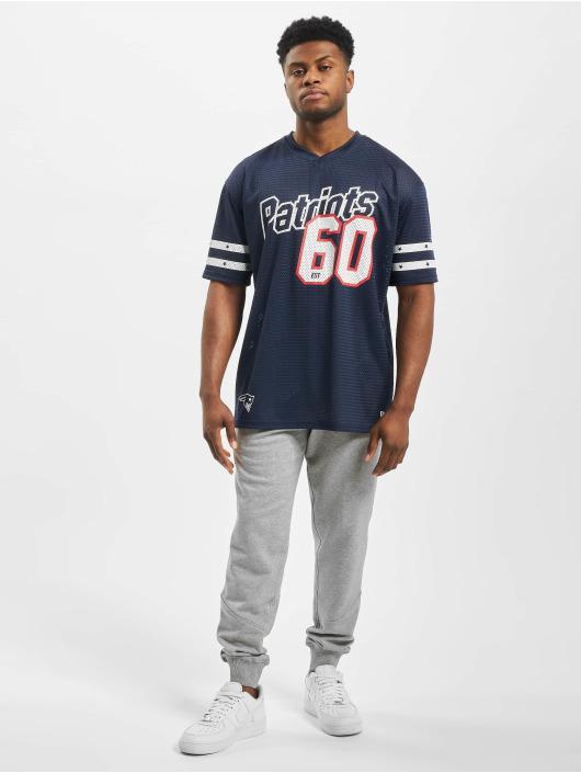 New Era T-Shirt NFL New England Patriots Stripe Sleeve Oversized blue