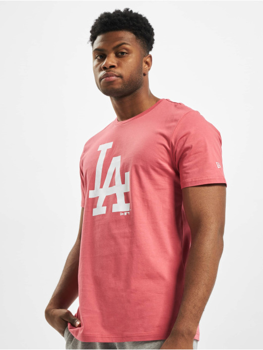 New Era T-Shirt MLB LA Dodgers Seasonal Team Logo pink