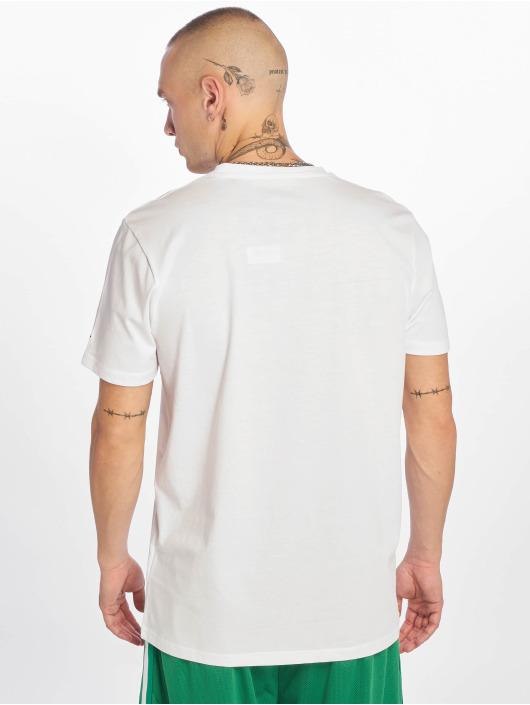New Era T-Shirt Visor Sticker white