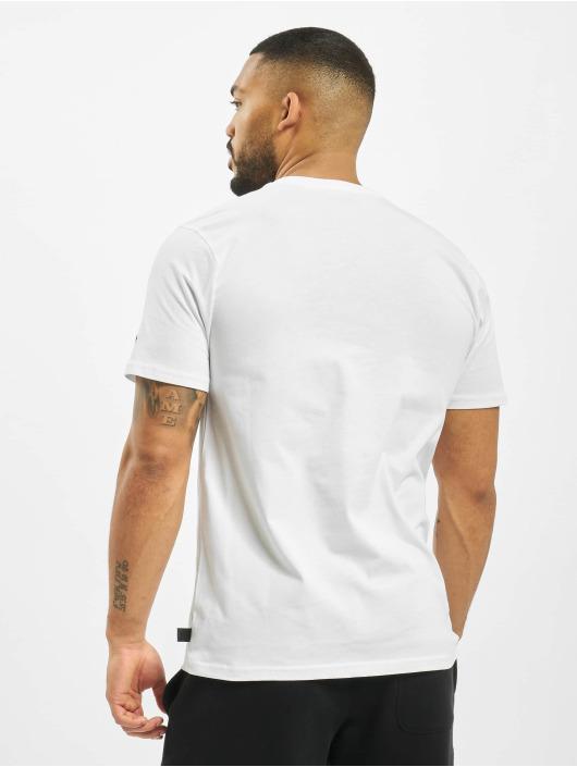 New Era T-Shirt NBA Chicago Bulls Logo Repeat white