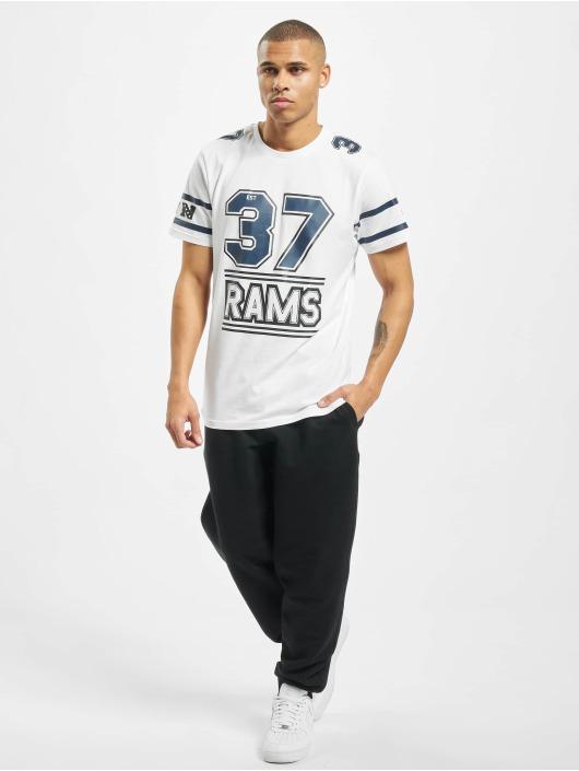 New Era T-Shirt NFL LA Rams Team Established Losram white