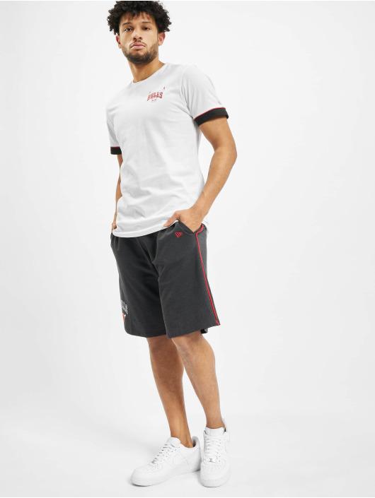 New Era T-Shirt NBA Chicago Bulls Stripe Piping white
