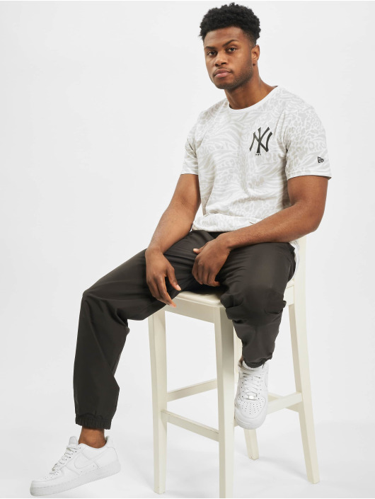 New Era T-Shirt MLB NY Yankees AOP white
