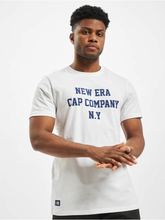 New Era T-Shirt College Pack College white