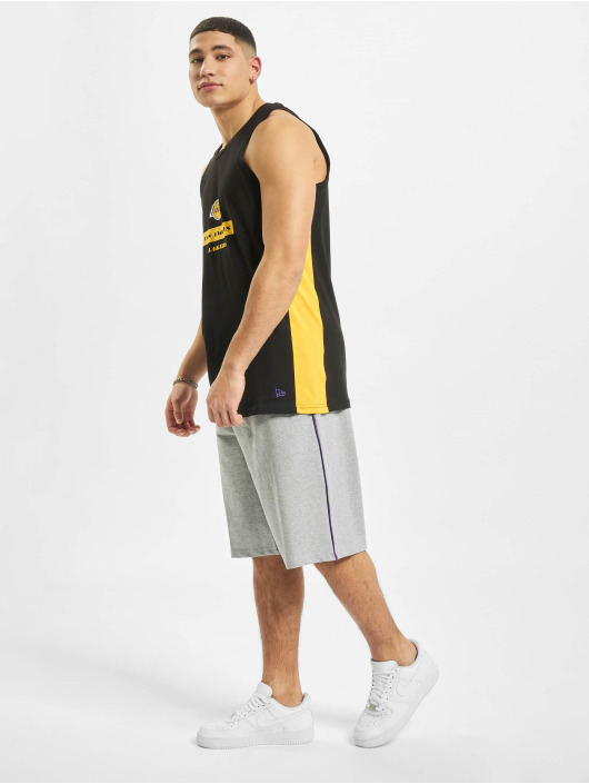 New Era Tank Tops NBA LA Lakers Block Wordmark black