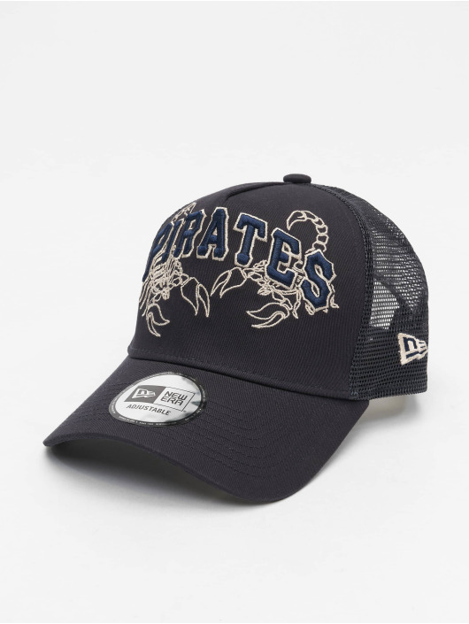 New Era Trucker Cap MLB Pittsburgh Pirates Tech Fabric Licensed Trucker blue