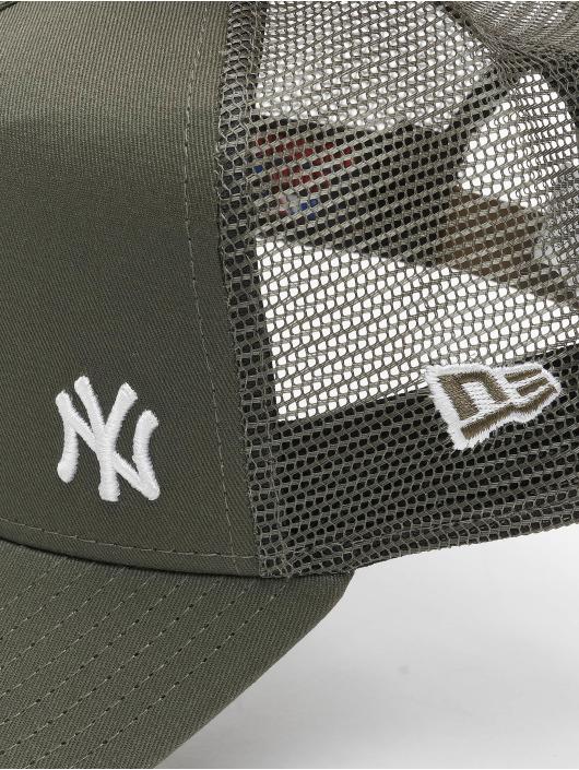 New Era Trucker Cap MLB NY Yankees Flawless green