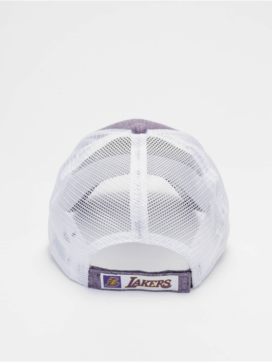 New Era Trucker Cap NBA Los Angeles Lakers Summer League 9forty purple