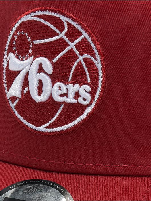 New Era Trucker Cap NBA Philadelphia 76ers Essential 9forty A-Frame red
