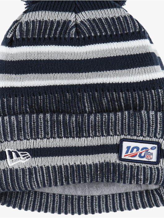 New Era Winter Hat NFL Dallas Cowboys Onfield Cold Weather Home blue