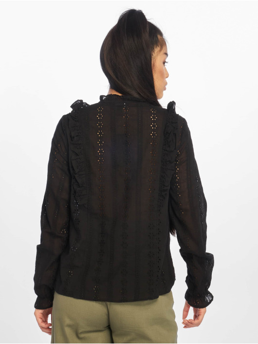 New Look Blouse/Tunic F Claire Cutwork black