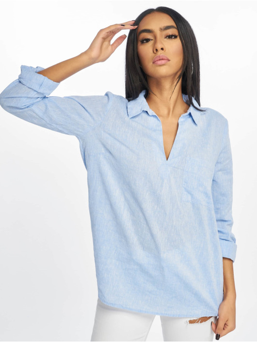New Look Blouse/Tunic T Lucy Linen Ellie Oh blue