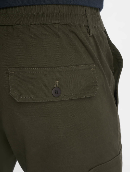 New Look Cargo pants Half Elasticated khaki