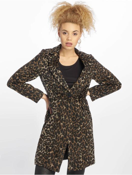 New Look Coats Formal Animal Lead In brown