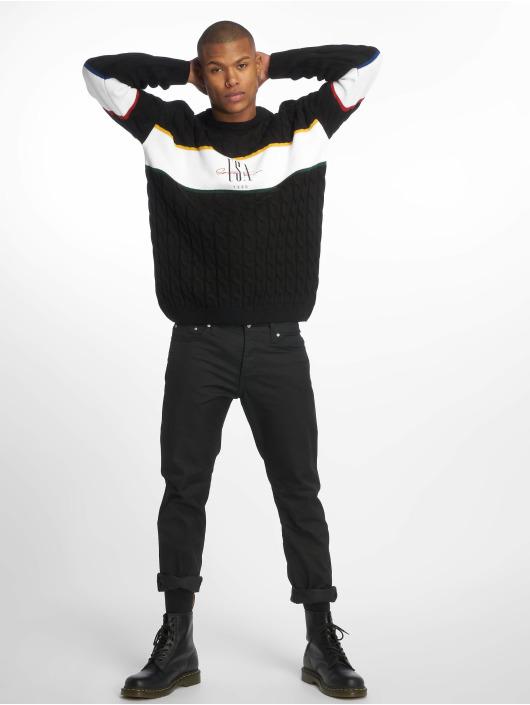 New Look Pullover USA EMB BLOCK black