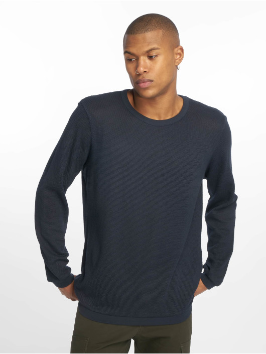 New Look Pullover Textured blue