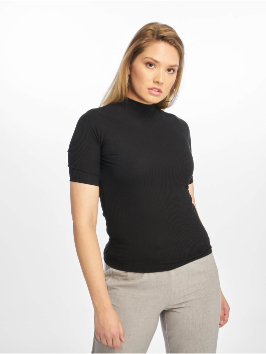 New Look T-Shirt Turtle Neck 1/S black