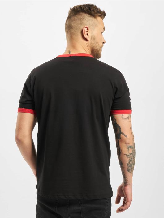 New York Style T-Shirt Contrast black