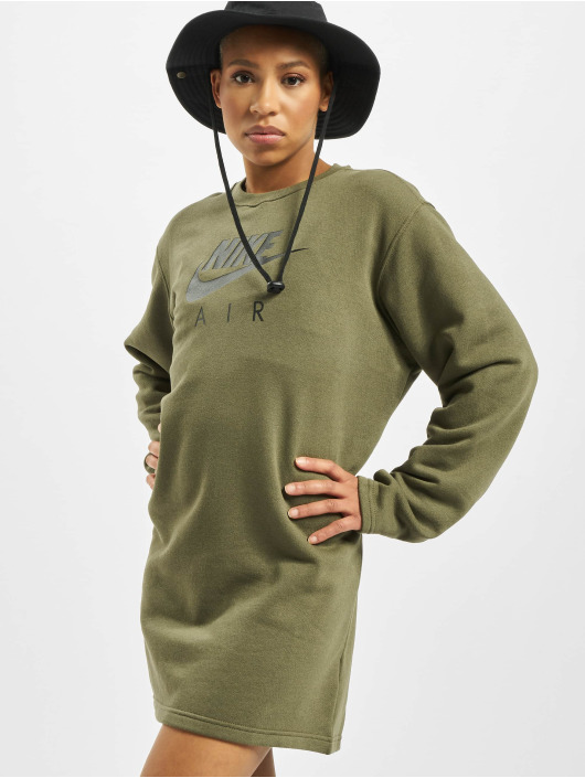 Nike Dress Air Crew Fleece olive