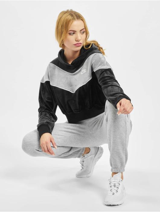 Nike Hoodie Heritage Plush black