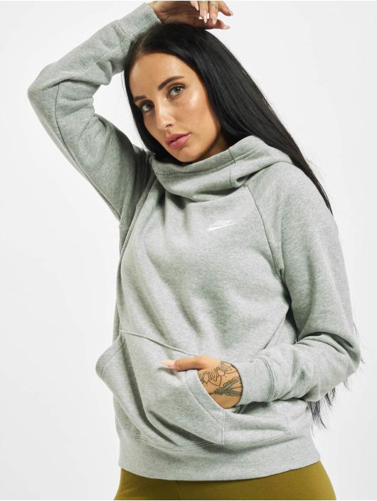 Nike Hoodie Essential Fleece Longsleeve gray