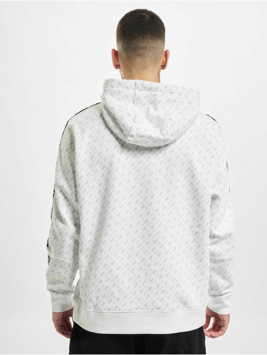 Nike Hoodie M Nsw Repeat Flc Po Hood Prnt white